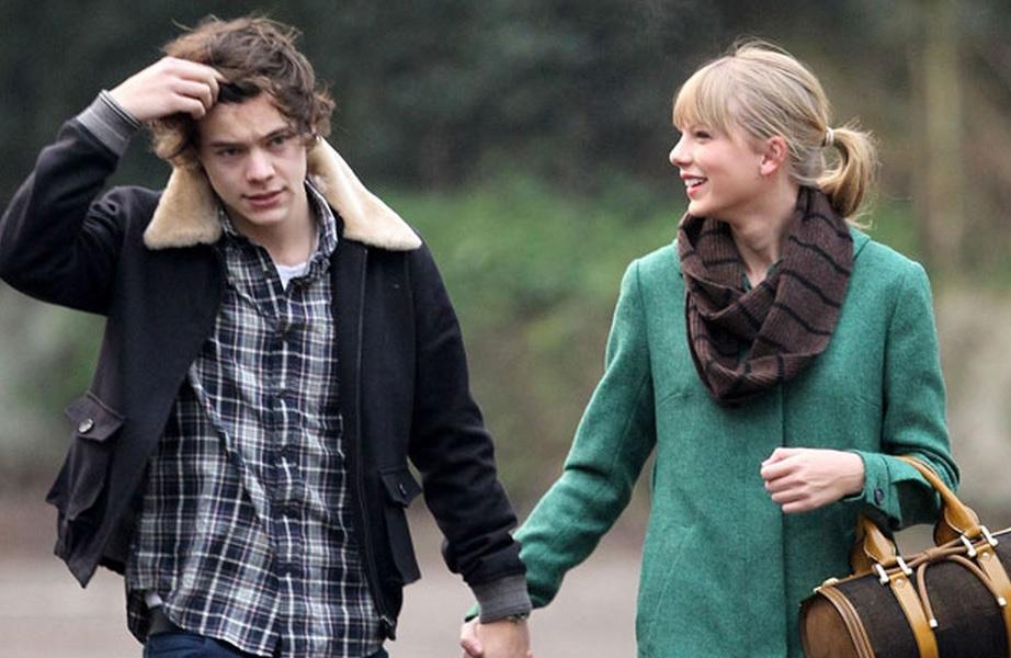 Harry Styles diz que tem sorte por Taylor Swift escrever sobre o relacionamento dos dois