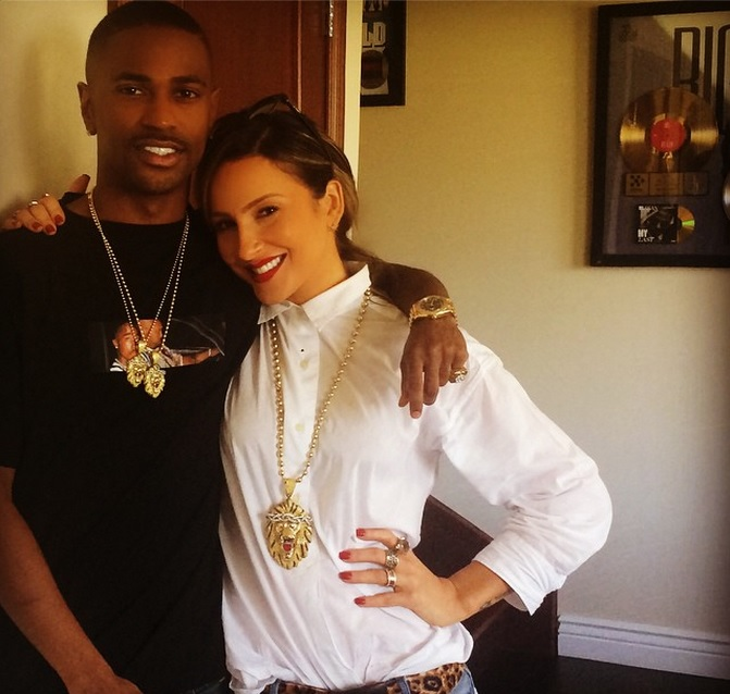 big sean e claudia leitte