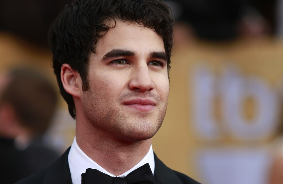 "Actor Darren Criss of the TV series ""Glee"" arrives at the 19th annual Screen Actors Guild Awards in Los Angeles"