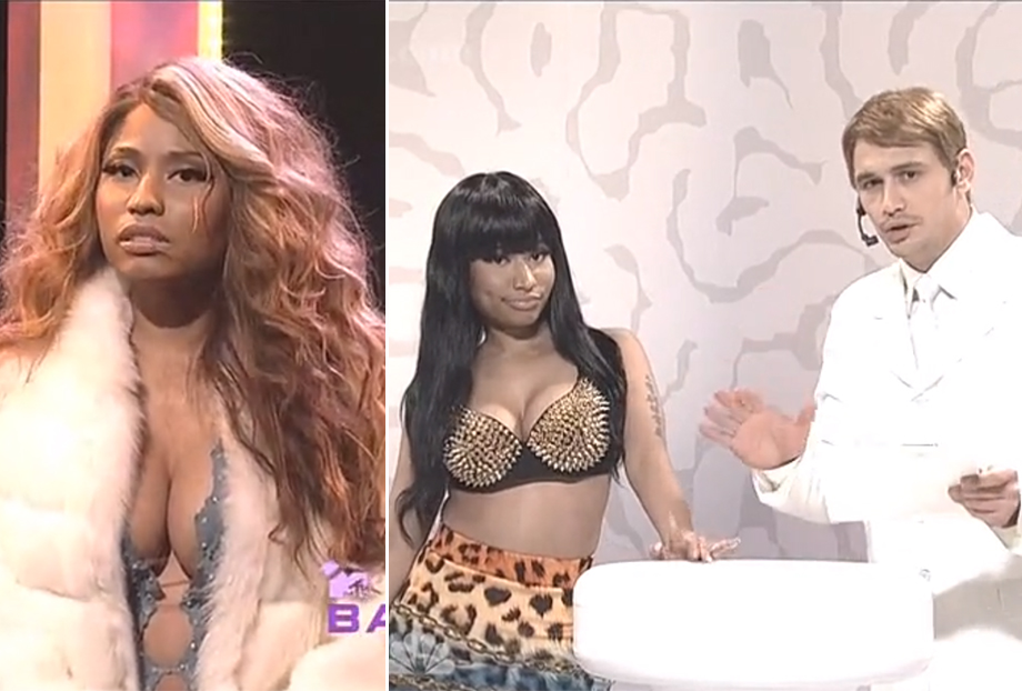 nicki-minaj-james-franco-snl