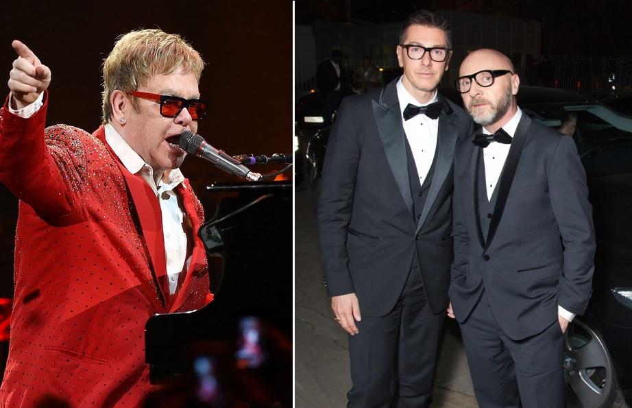 55eeadde5699f Elton John critica declaração conservadora de Dolce   Gabbana e promove  boicote à marca
