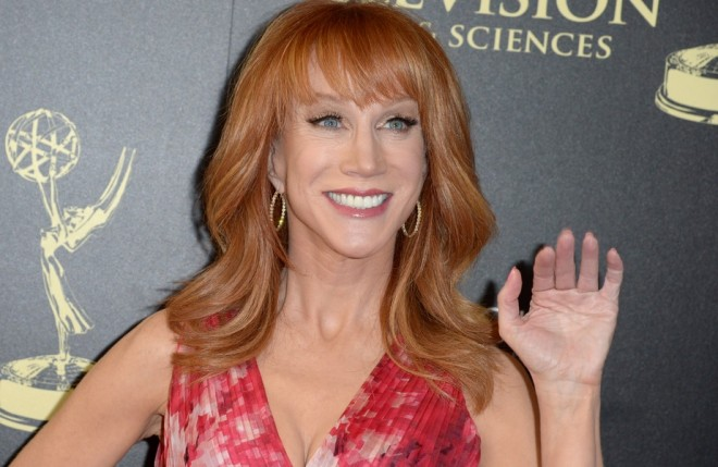 kathy griffin fora do fashion police