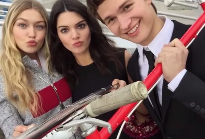 kendall jenner pau de selfie