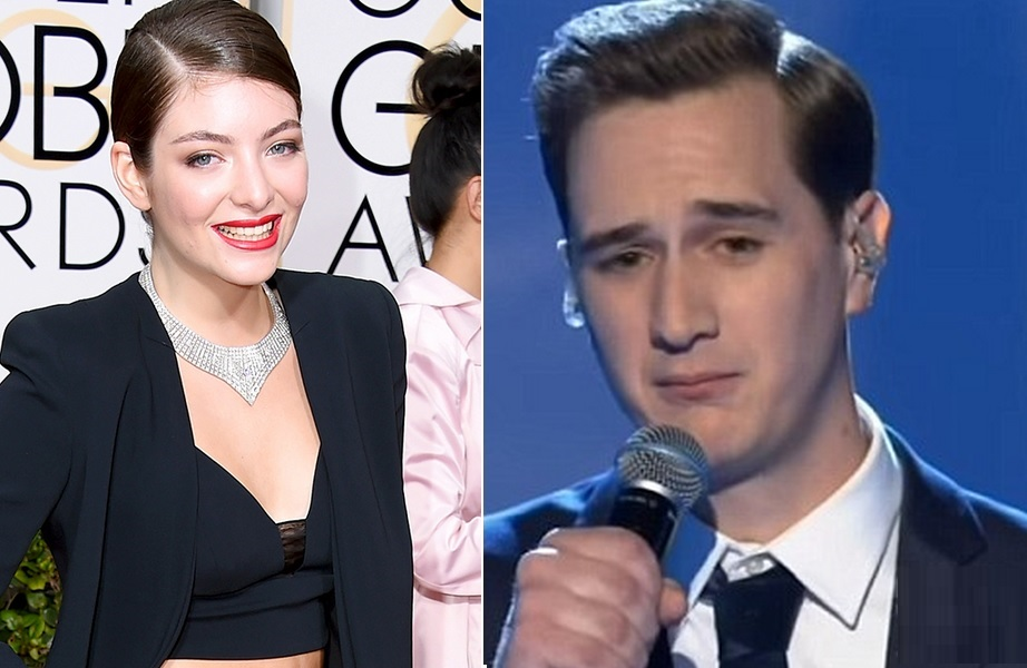 "Lorde manda recado fofo (e doces) para Joe Irvine, o participante que foi humilhado no ""X Factor"""