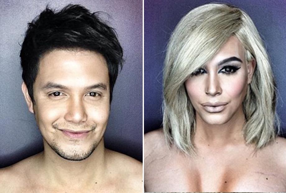 Esse cara consegue se transformar em Kim Kardashian, Cher, Julianne Moore... Olha isso!!