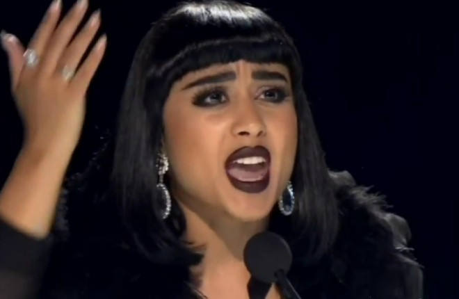 natalia kills ataca candidato do x factor