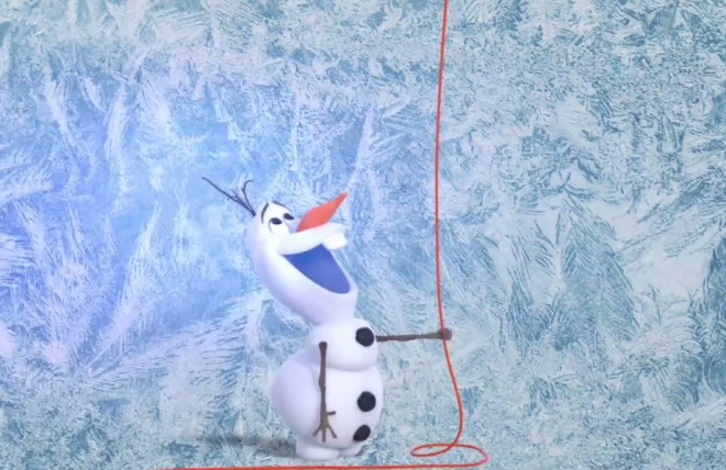 olaf lyric video make a perfect day frozen febre congelante