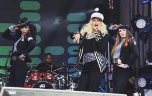 Saudades da Christina Aguilera? Alguém filmou um show que ela fez essa semana!