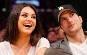 Dizem que a Mila Kunis e o Ashton Kutcher se casaram no final de semana!