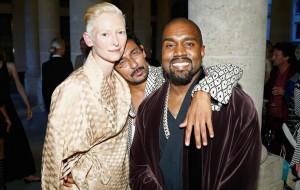 Tilda Swinton faz questão de esclarecer que não é amiga do Kanye West