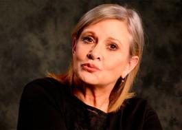 Carrie Fisher enviou uma língua de vaca para o produtor que assediou sua amiga