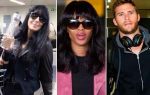O que esses famosos vieram fazer no Brasil em 2015?