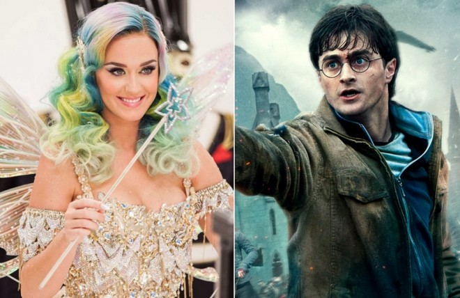 katy perry harry potter