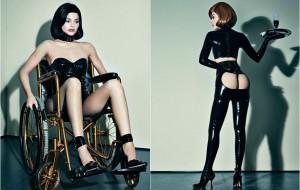 Kylie Jenner tá com o bumbum de fora em ensaio para a revista Interview