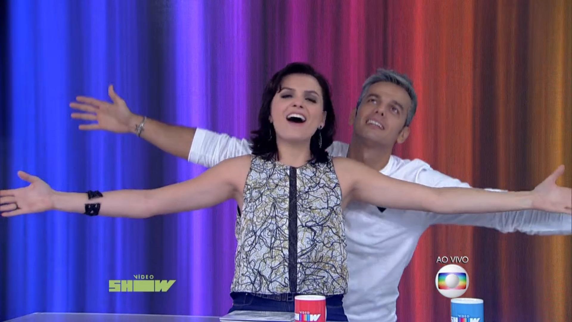 monica e otaviano video show