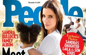 Sandra Bullock apresenta sua nova filha, Laila