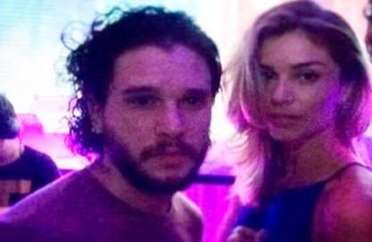 Grazi pegou Jon Snow