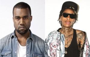 Kanye West e Wiz Khalifa resolveram fazer o maior barraco no Twitter