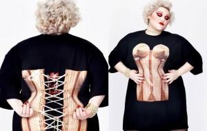 Beth Ditto mostra linha de roupas plus-size feita com Jean Paul Gaultier
