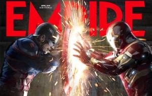 """""""Capitão América: Guerra Civil"""" ganha novas fotos na revista Empire"""