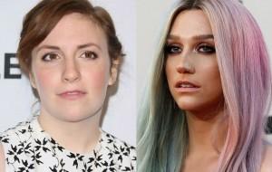 Lena Dunham sai em defesa Kesha e discute o empoderamento feminino