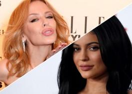 """Cheguei primeiro! Kylie Minogue vence ação para impedir Kylie Jenner de registrar a marca """"KYLIE"""""""