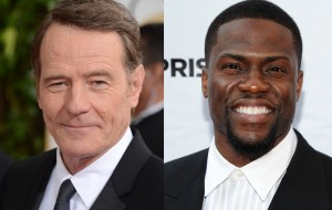 """Bryan Cranston e Kevin Hart serão os protagonistas da nova versão de """"Intocáveis"""""""
