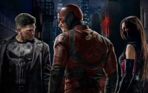 Demolidor, Justiceiro e Elektra aparecem com seus uniformes em pôster da Netflix