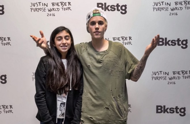 meet and greet justin bieber