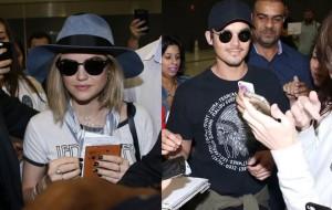"""Lucy Hale e Tyler Blackburn estão no Brasil para a convenção de """"Pretty Little Liars"""""""