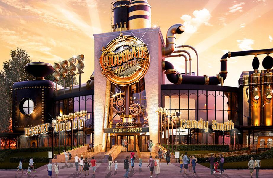 """Universal Studios vai abrir um restaurante inspirado no filme """"A Fantástica Fábrica de Chocolate"""""""