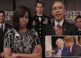 Agora é guerra! Barack e Michelle Obama desafiam a Família Real Britânica