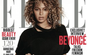 Beyoncé poderosíssima na capa da Elle