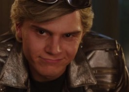 "Evan Peters usa todo seu charme como o Mercúrio, de ""X-Men: Apocalipse"", em comercial de TV"