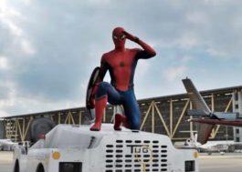 """Homem-Aranha diz que é """"grande fã"""" do Capitão América em nova prévia de """"Guerra Civil"""""""