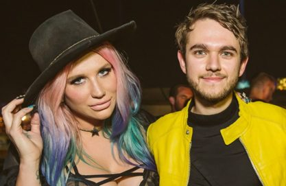 Parceria entre Kesha e Zedd