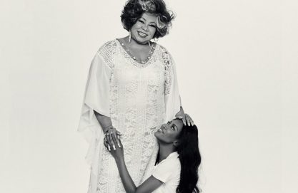 Naomi e Alcione na Vogue Brasil