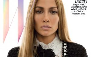 Jennifez Lopez igual uma barbiezinha na capa da W Magazine