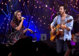 "Tiago Iorc canta ""Bang"" e faz dueto de ""Nothing But a Song"" com Anitta na TV"