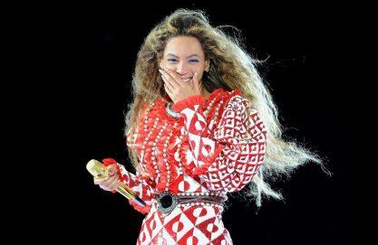 Beyoncé um pouco confusa