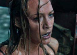 """Blake Lively é cercada por um tubarão no novo trailer tenso do terror """"Águas Rasas"""""""