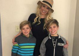 """Britney Spears escreve carta para os filhos de Dia das Mães: """"minhas obras-primas"""""""