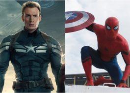 Chris Evans quer o Capitão América no novo filme do Homem-Aranha