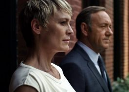 "Robin Wright exige e consegue salário igual ao de Kevin Spacey em ""House of Cards"""