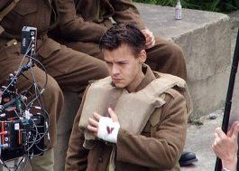 Harry Styles, o ator, aparece em mais imagens do novo filme de Christopher Nolan