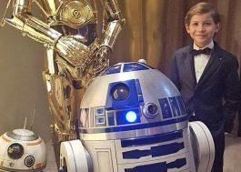 """Jacob Tremblay, do """"Quarto de Jack"""", quer muito participar da franquia """"Star Wars"""""""