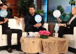 Jared Leto e Drake admitem que já ficaram com fãs em jogo com a Ellen DeGeneres