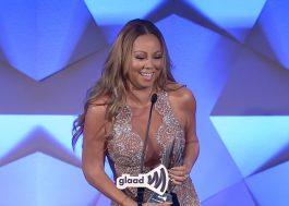 Mariah Carey é homenageada por seu apoio à comunidade LGBT em premiação