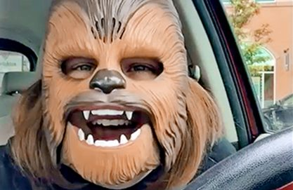 Mãe maravilhosa de Chewbacca