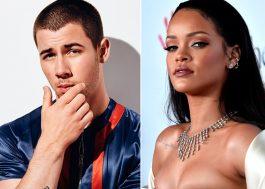 Nick Jonas deu em cima da Rihanna uma vez e ela nem deu bola